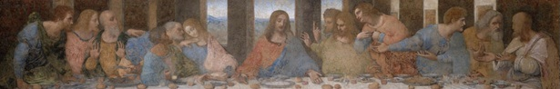 Last Supper Figures Detail